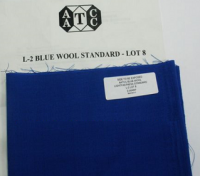 AATCC Bule Wool Lightfastness Standard标准耐光蓝色羊毛布