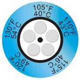 英国THERMAX 钟式热敏试纸|温度纸
