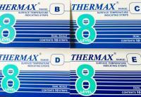 英国THERMAX 8格热敏贴纸|温度纸