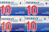 英国THERMAX 10格热敏贴纸|温度纸