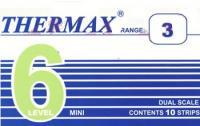 英国THERMAX 6格感温贴纸|温度纸