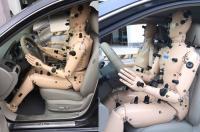汽车舒适性空调假人测试系统